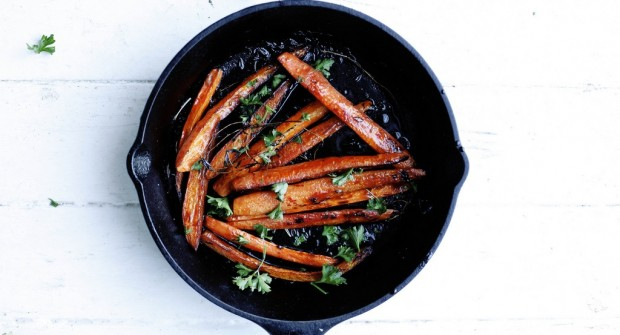 Pomegranate Roasted Carrots- Food52