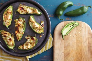 Crab-Hatch Chile Jalapeño Poppers Recipe