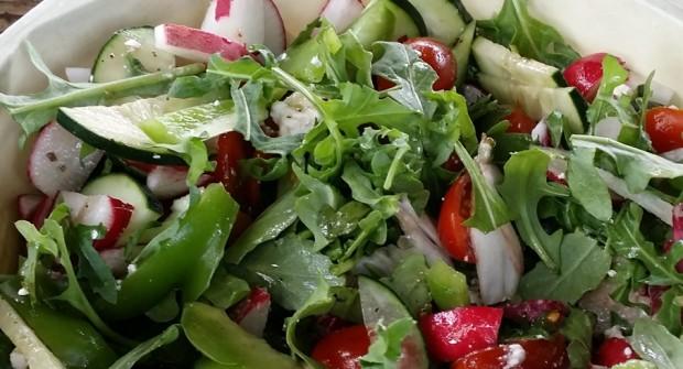 Garden Fresh Tangy Salad
