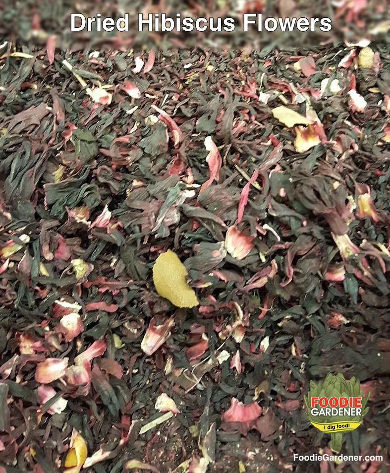 Jamaica Dried Hibiscus Flowers Tea Mexican Market Foodie Gardener