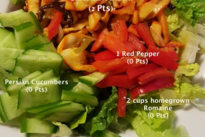 CALAMARI SALAD: 2 POINT WEIGHT WATCHER'S FRIENDLY RECIPE